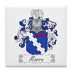 Marra Family Crest Tile Coaster