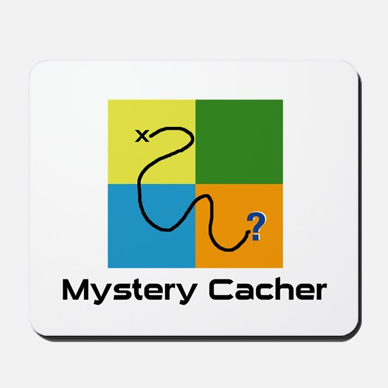 Mystery Cacher Mousepad
