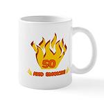 50 Years Old And Smokin' Mug