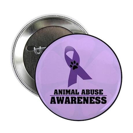 "Animal Abuse Awareness 2.25"" Button (10 pack)"