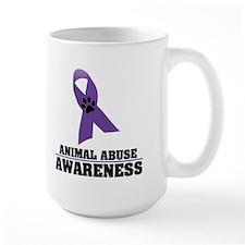 Animal Abuse Awareness Mug
