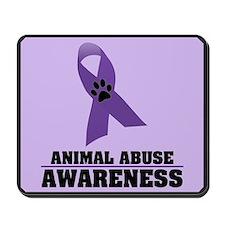 Animal Abuse Awareness Mousepad