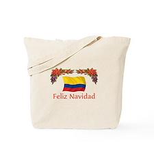 Colombia Feliz Navidad 2 Tote Bag