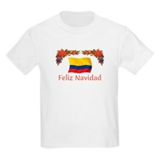 Colombia Feliz Navidad 2 T-Shirt