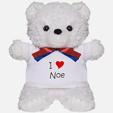 Cute I love noe Teddy Bear