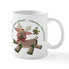 Holiday Reindeer Irish/English Mug