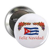 """Cuba Feliz Navidad 2 2.25"""" Button"""