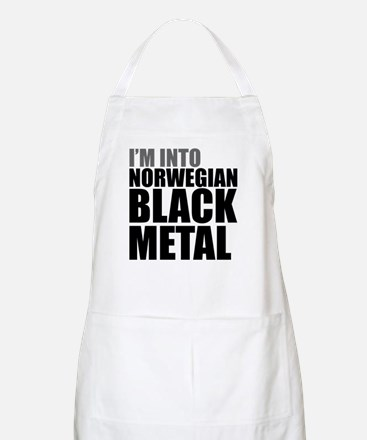 Norwegian Black Metal BBQ Apron
