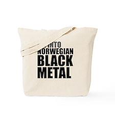 Norwegian Black Metal Tote Bag