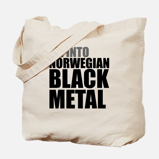 Norwegian Black Metal Tote Bag