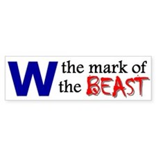 The Mark of the Beast (Bumper Sticker)