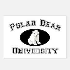 Polar Bear University Postcards (Package of 8)
