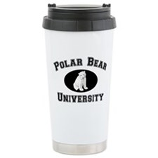 Polar Bear University Travel Mug
