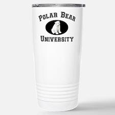 Polar Bear University Travel Mug
