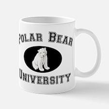 Polar Bear University Mug