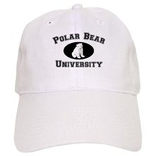 Polar Bear University Baseball Cap