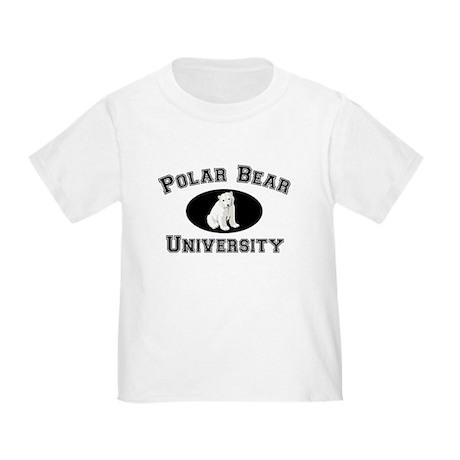 Polar Bear University Toddler T-Shirt
