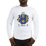 Marzari Family Crest Long Sleeve T-Shirt