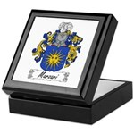 Marzari Family Crest Keepsake Box