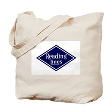 Reading Lines Tote Bag