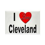 I Love Cleveland Rectangle Magnet (10 pack)