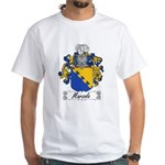 Marzolo Family Crest White T-Shirt