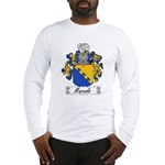 Marzolo Family Crest Long Sleeve T-Shirt