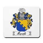 Marzolo Family Crest Mousepad