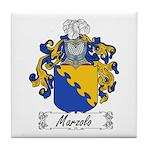 Marzolo Family Crest Tile Coaster