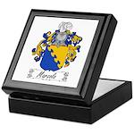 Marzolo Family Crest Keepsake Box