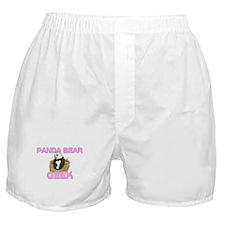 Panda Bear Geek Boxer Shorts