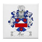 Masi Family Crest Tile Coaster