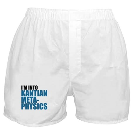 Kantian Metaphysics Boxer Shorts