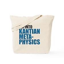 Kantian Metaphysics Tote Bag