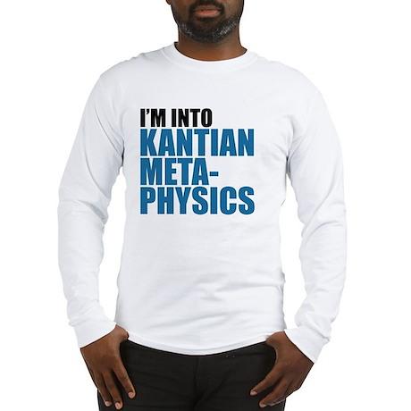 Kantian Metaphysics Long Sleeve T-Shirt