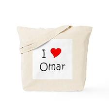 Cute Omar Tote Bag