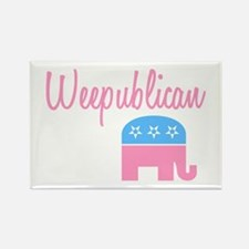 Weepublican (Pink) Rectangle Magnet