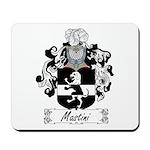 Mastini Family Crest Mousepad