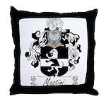 Mastini Family Crest Throw Pillow