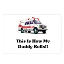 Ambulance This Is How My Dadd Postcards (Package o