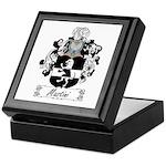 Mastini Family Crest Keepsake Box