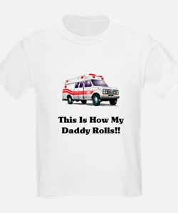 Ambulance This Is How My Dadd T-Shirt