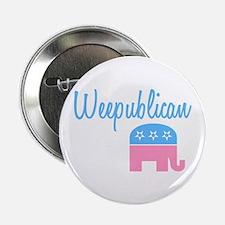 "Weepublican (Blue) 2.25"" Button"