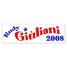 Rudy Giuliani, President, 2008 Bumper Sticker-2