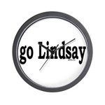 go Lindsay Wall Clock