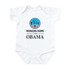 Working Moms Obama Infant Bodysuit