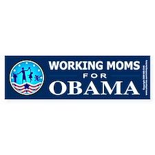 Working Moms Obama Bumper Stickers
