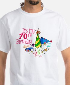 It's My 70th Birthday (Party Hats) Shirt