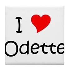 Odetteness Tile Coaster