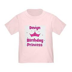 1st Birthday Princess Devyn T
